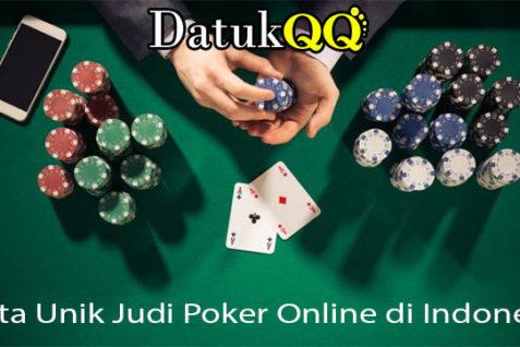 Fakta Unik Judi Poker Online di Indonesia