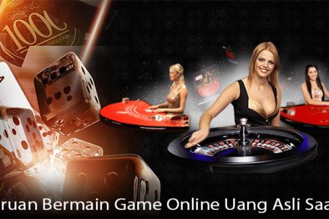 Keseruan Bermain Game Online Uang Asli Saat Ini